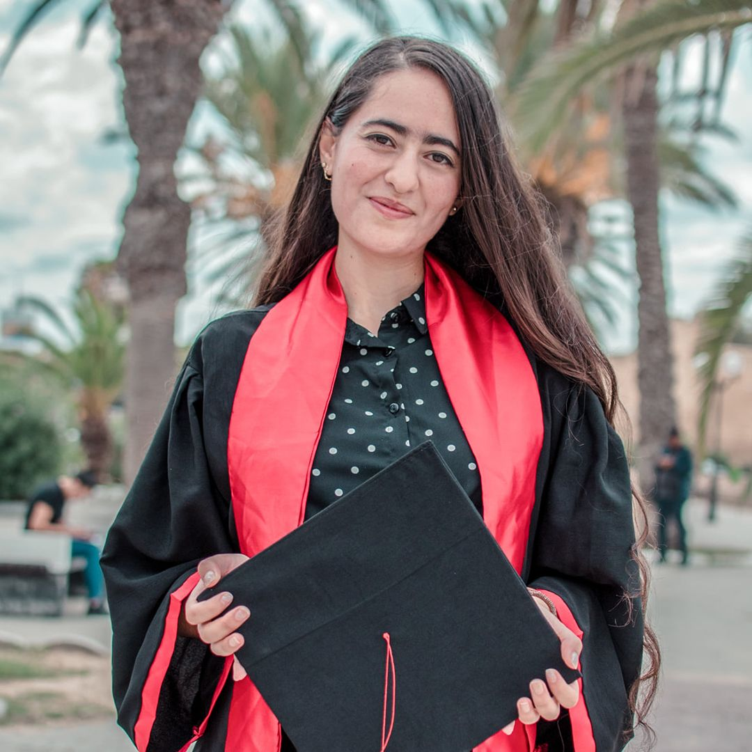 amal kachabia marketing manager at student magazine